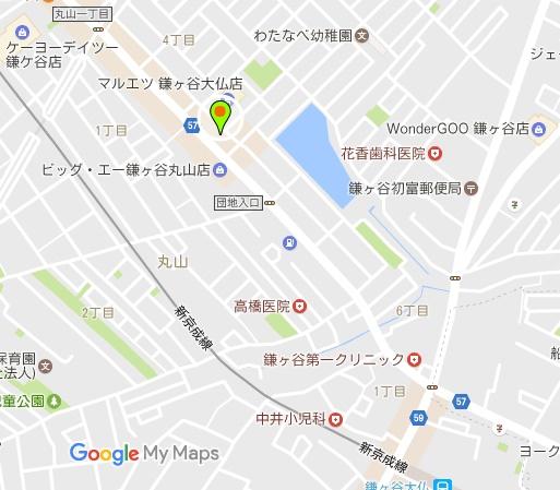 鎌ヶ谷大仏店MAP